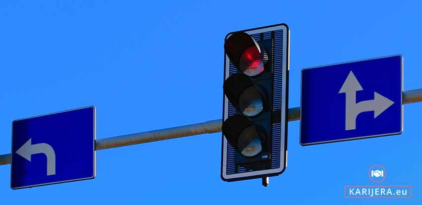 Svjetlo za uzbunu i kad se poslodavcima crvena lampica upozorenja