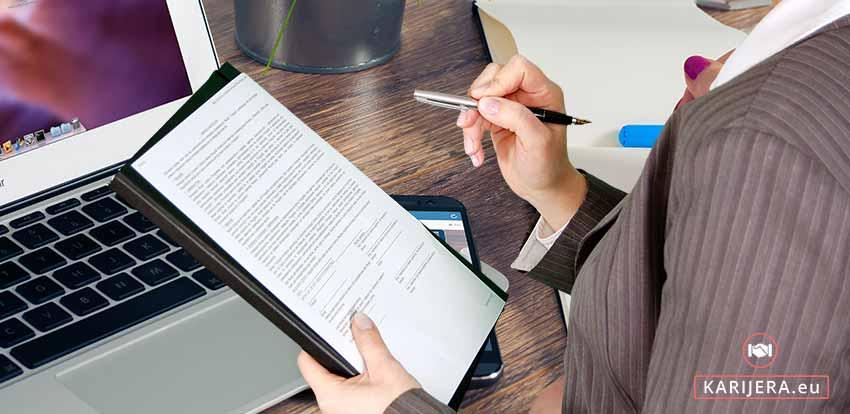 Namamite poslodavca - headhuntera svojim popratnim - motivacijskim pismom
